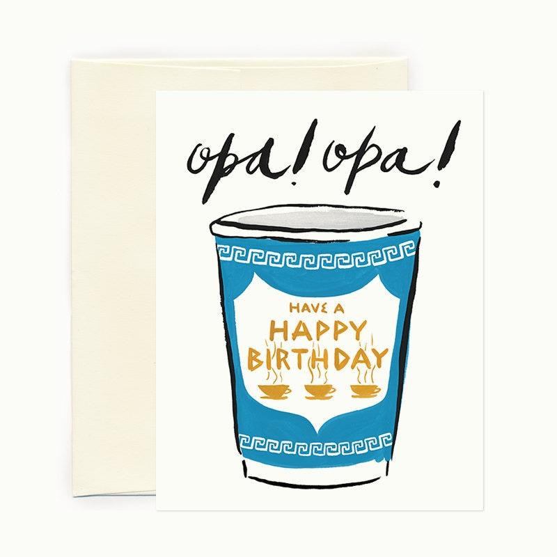 Opa Birthday Greeting Card By IdlewildCo On Etsy