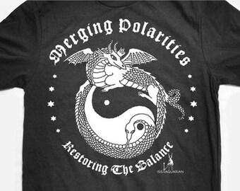 Dragon Polarity Screenprinted tee