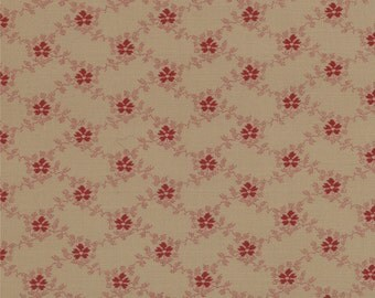 Floral Gatherings Fabric Collection by Primitive Gatherings  - Time Worn 1103-18 - 1 Yard