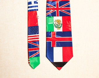 Men's Tie - Flags of the World