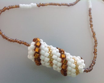 Convertible Jewellery Handmade Bead woven original design beaded jewelry necklace