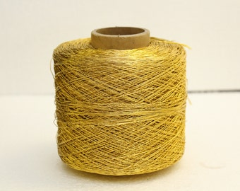 Large spool Golden yellow cord