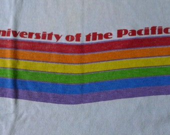 Vintage 80s University of the Pacific T-Shirt
