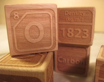 Other Nonmetals Wooden Blocks (set of 7)