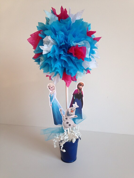 Frozen Birthday Party Decoration Centerpiece By