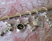 Love My Doxie Stitch Markers