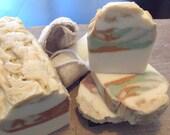 Al Natural Soap with Natural Herb Colorants