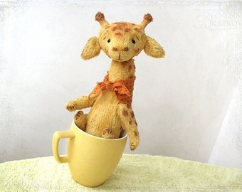 PATTERN Download to create teddy like Giraffe George 9 inch
