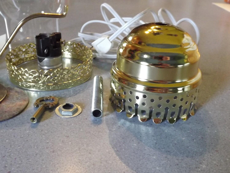 vintage modern lightcraft lamp parts set no 85x custom. Black Bedroom Furniture Sets. Home Design Ideas