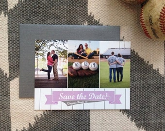 Baseball Inspired Save the Date