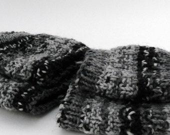 Small size Hand knit Yoga socks - toeless, dance, pedicure