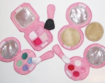 play make up In the Hoop design digital instant download
