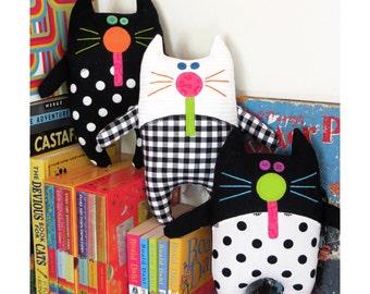 Catnip Kitties - PDF Softies Pattern