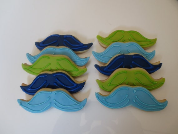 Mustache Party Favor Cookies