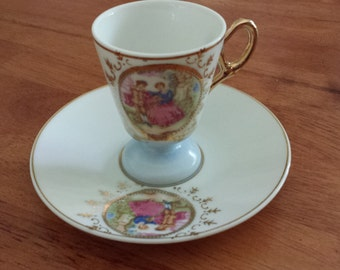 Vintage China Tea Cup and Saucer Made in Japan