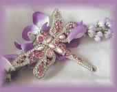 Rhinestone Dragonfly Pin - signed