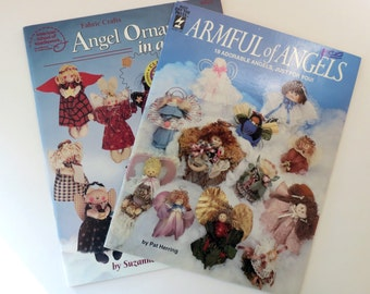 Angel Projects Two Booklets Ornaments Decor