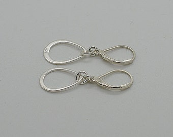 Sterling Silver Lever Back Earrings 01