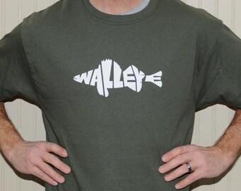 Walleye T Shirt