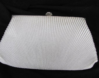 Vintage Silver Evening Bag Made in HONG KONG