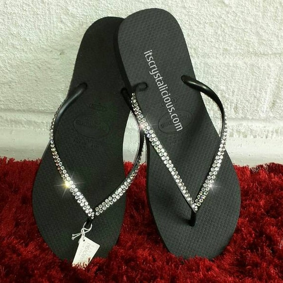 Havaianas Covered In SWAROVSKI Crystal Bling by ...