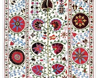 Handmade Modern Suzani L1276