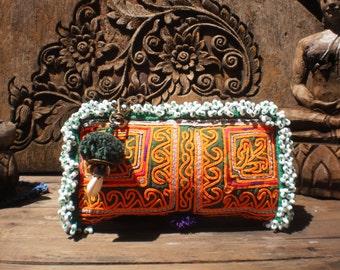 Tribal Afghan Vintage Textile Purse