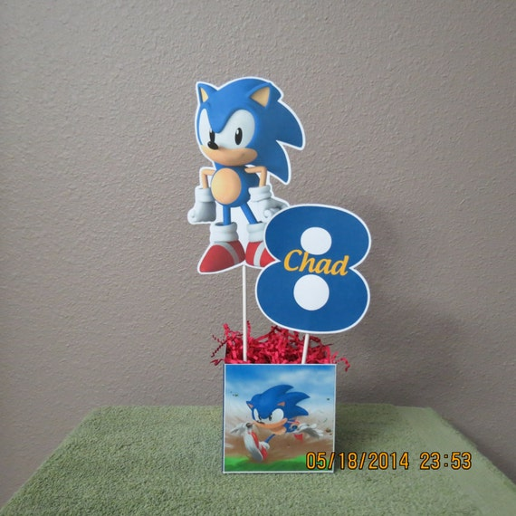 Sonic The Hedgehog Centerpiece DIY