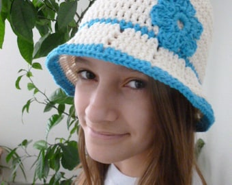 Summer Cotton Brim Hat