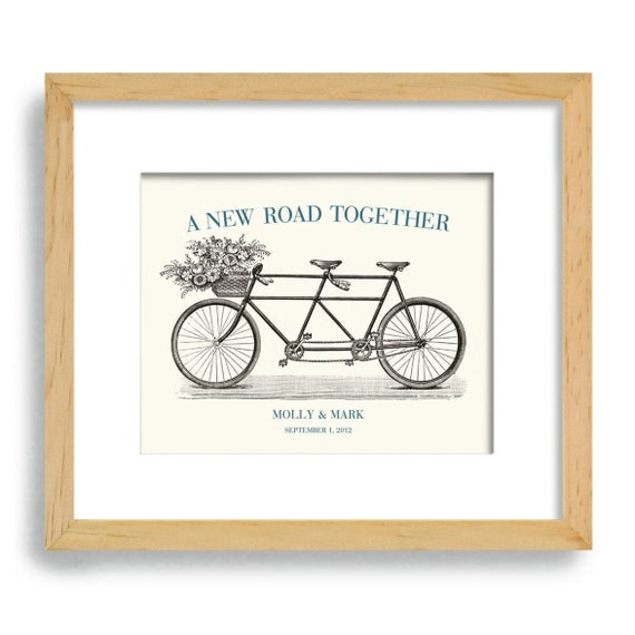 Wedding Gift Wall Art: Unique Wedding Gift Engagement Gift Wall Art Vintage By DexMex