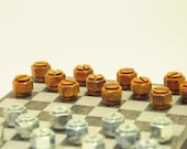 Mini Hardware Checkers Set