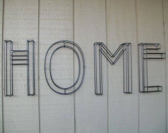 HOME Wall Art Letters