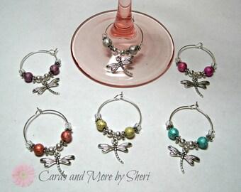 Wine Glass Charms - Hostess Gift - Wedding Gift - Housewarming Gift