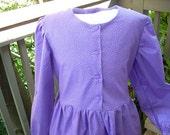 "Girls Pioneer Dress ""Meg"" Size 12"