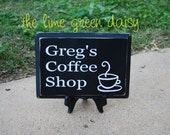 Personalized Coffee Shop