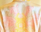 Vintage Escada Silk Masquerade Blouse