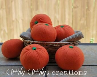 Felt Food Orange