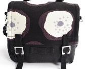 Bike Bag - Marimekko - Messenger Bag - Black White Grey
