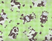 Fat Quarter, Cows, Milk Cows, Barnyard by Timeless Treasures, Cow Fabric, 05106