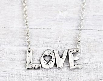 Show Your Love Necklace -Romantic Jewelry - Bohemian Necklace - N594
