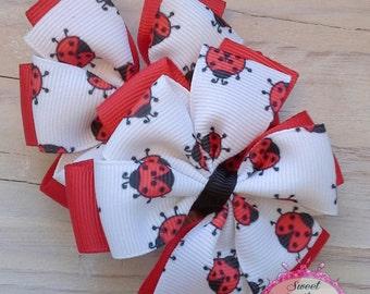 Ladybug Pinwheel Piggy Clips