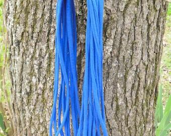 Royal blue t-shirt scarf