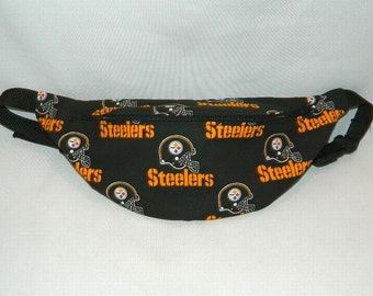 Fanny Pack - Hip Bag - NFL Football Theme - Pittsburg Steelers