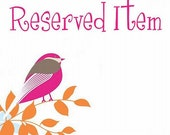Reserved for tinytyrant