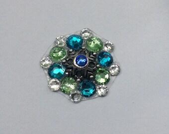 Ocean Swarovski Crystal Bindi