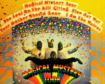 The Beatles - Magical Mystery Tour LP (with booklet) - 1967 (original pressing) - Capitol SMAL 2835 - Vintage Vinyl LP Record Album