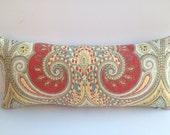 "Kravet ""Latika"" Ikat Decorative-Both-Sides-Pillow Cover 8 X 18 Toss Pillow"
