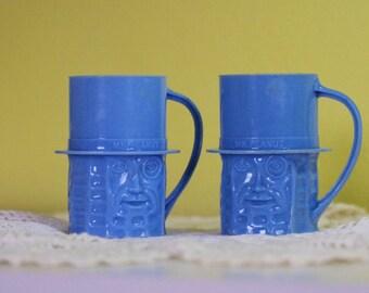 Vintage Mr. Peanut Mugs