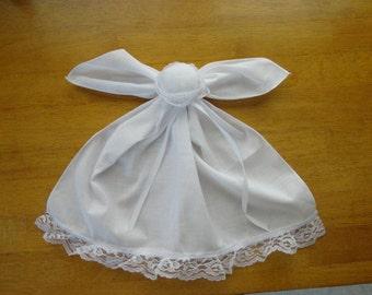 Handkerchief Doll, Pew Doll, Church Doll by Sew Practical, Mom and Pop Craft