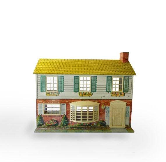 Vintage Metal Doll House 81